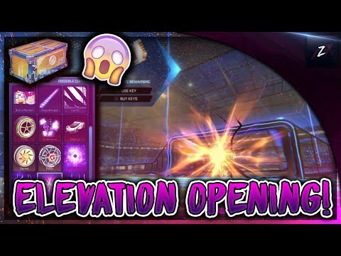 OPENING 5 NEW ELEVATION CRATES! (ROCKET LEAGUE NEW UPDATE!) thumbnail
