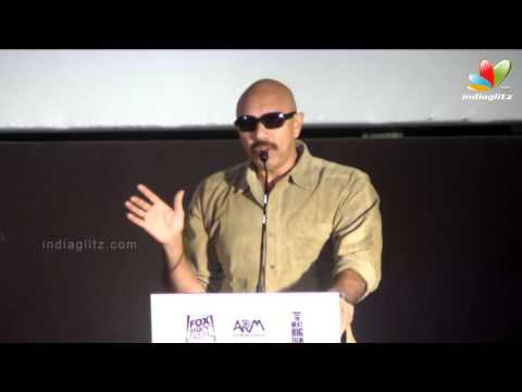 Sathyaraj : I want to see Arya and Nayantara together | Raja Rani Audio Launch | Comedy Travel Video