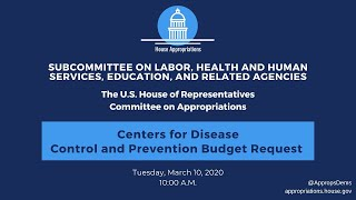 Centers for Disease Control and Prevention Budget Request for FY 2021 (EventID=110676)