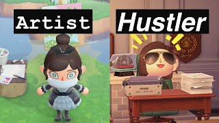 5 types of animal crossing players