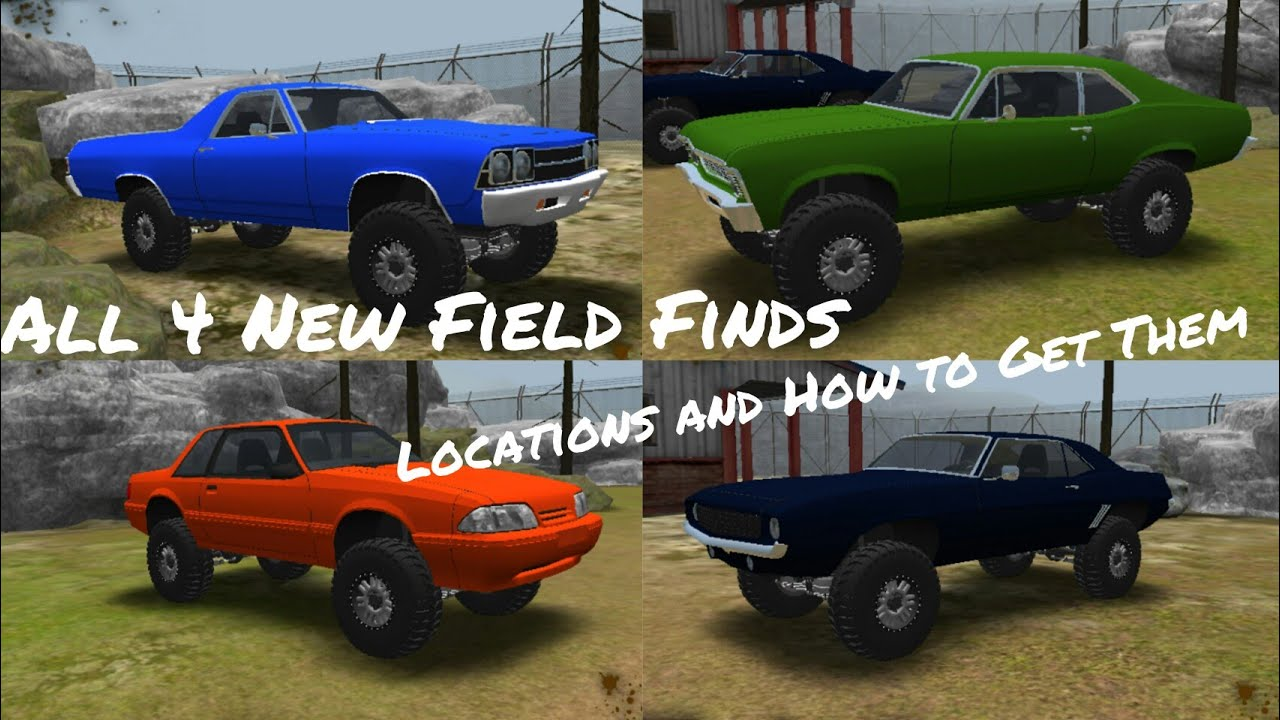 Offroad Outlaws All 4 New Field Find Locations Revealed And How To