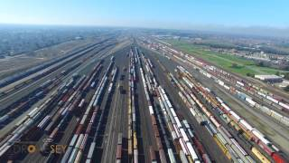 Roseville Rail Yard.  Largest Rail Facility on the West Coast