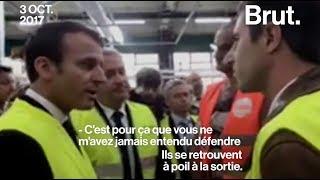 Le face à face Emmanuel Macron / François Ruffin à Amiens