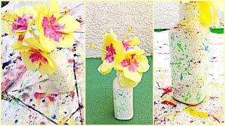 DIY Flower Decorations: Paper Hibiscus + Vase Ideas