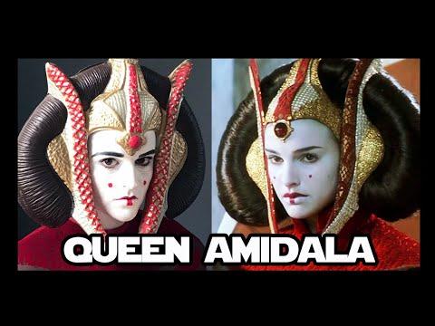 Queen Amidala Makeup Tutorial   Geek On Fleek