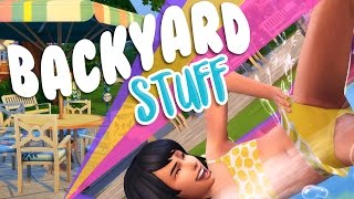 The Sims 4 Backyard Stuff | Overview & First Impressions ☀