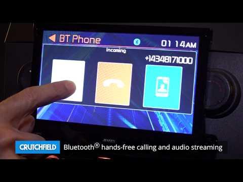 Jensen VX3518 Display And Controls Demo | Crutchfield Video