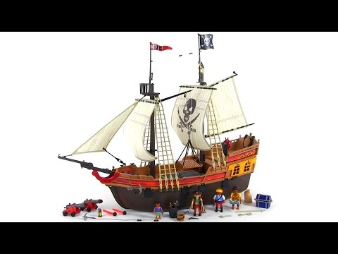 Playmobil Pirate Ship review! set 5135