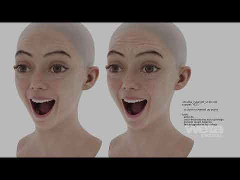 Alita: Battle Angel VFX | Breakdown - Alita | Weta Digital