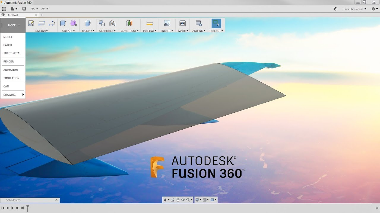 How To Create an Airfoil Wing Design — Fusion 360 Tutorial — #LarsLive 120