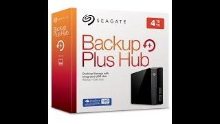 Seagate Backup Plus Hub 4TB External Desktop Hard Drive  | Digit.in