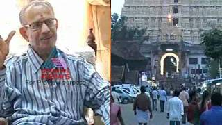 Sree Padmanabhaswamy Temple-Eyewitness account.