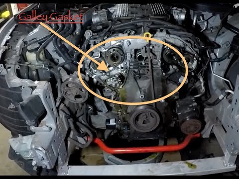 2008 INFINITI G37s Galley Gasket Repair ⚒🔨🔧🔧⛏🔩⚙️⚙️⚙️⚙️⚙️