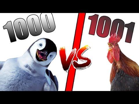 1000 PINGOUINS VS 1001 POULETS !?!! - MAIS QUI VA GAGNER CE DUEL ?! (Ultimate Epic Battle Simulator)