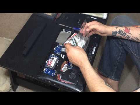 Lenovo IdeaPad y510p SSD/Ram/WiFi Card/M.2 SATA Install and Swap