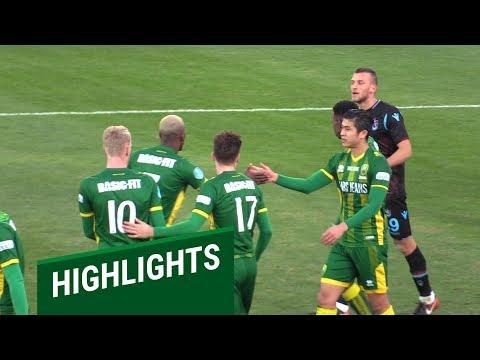 Samenvatting Trabzonspor - ADO Den Haag 3-1 (08-01-2019)