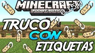 Trucos Con Las Etiquetas En Minecraft Pe 0.15.0 | Trucos Minecraft pe 0.15.0