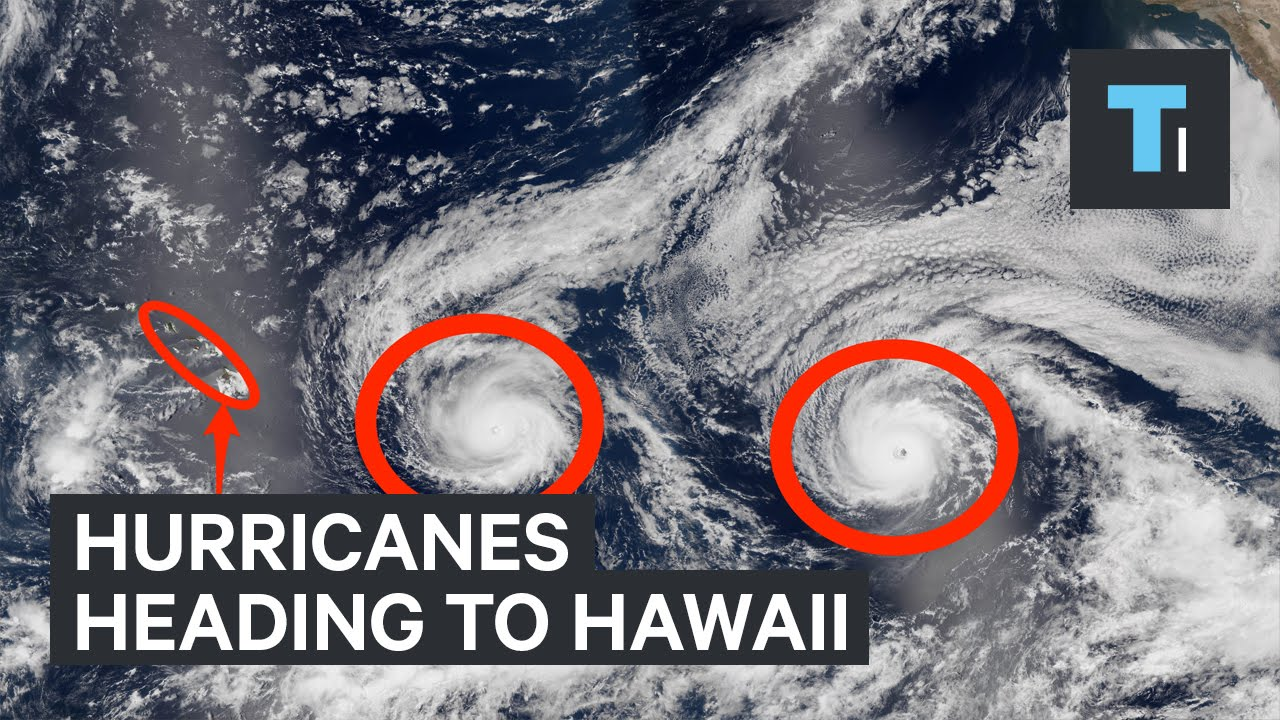 Hurricanes heading to Hawaii