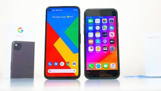 Google Pixel 4a ($349) vs. iPhone SE 2020 ($399): Which Would YOU Choose?