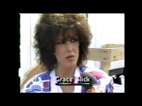 Grace Slick 80s