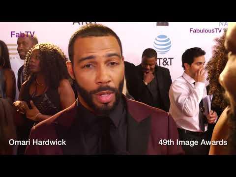 Omari Hardwick at the 49th  Awards FabTV