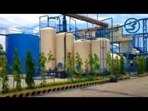 Waste Oil Distillation Machine With Capacity 50MT