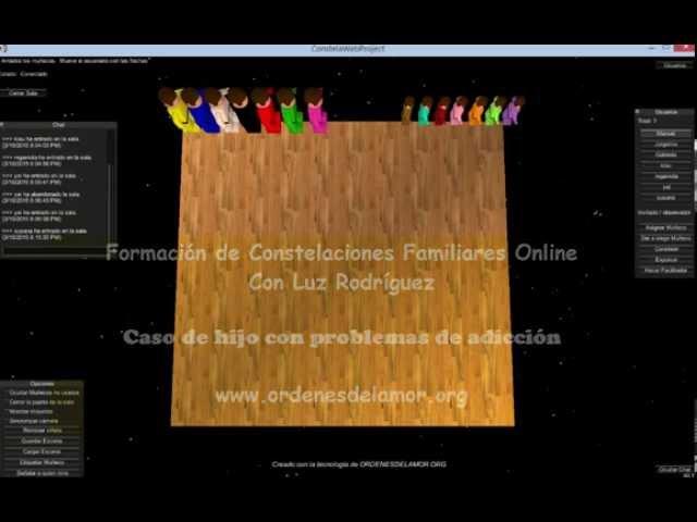 Constelación Familiar Online. Hijo con Adicción