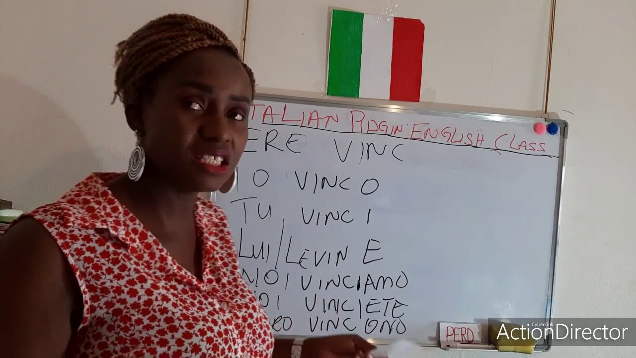 Italian verbs (Verbo ERE) one of the 5 conjugative verbs