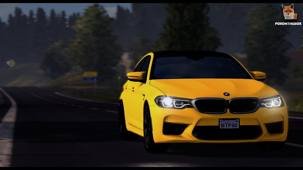 Bmw M5 F90 Euro Truck Simulator 2 Ets2 1 30 Mod Youtube