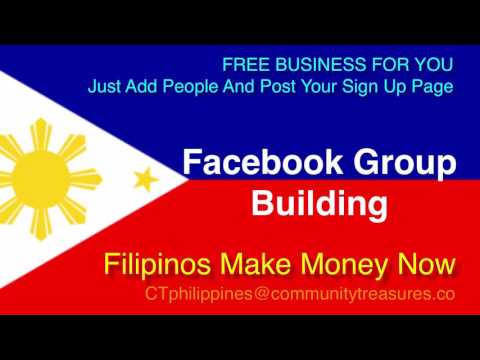 Money For Filipinos - Online Jobs - Facebook Group Building