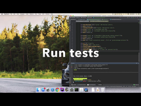 Joomla Extension Automatic Tests