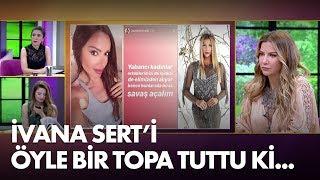 Gambar cover Sevda Demirel'den İvana Sert'e olay yorum: Erkeklerimizi de işimizi de elimizden alıyorlar!