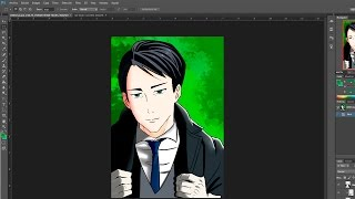 Speed Drawing - Ebisu: Noragami