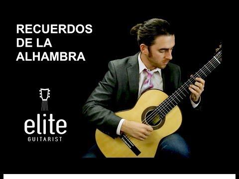 Learn To Play Recuerdos De La Alhambra - EliteGuitarist.com Classical Guitar Tutorial Part 1/3