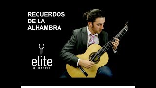 Learn to play Recuerdos de la Alhambra - EliteGuitarist.com Classical Guitar Tutorial Part 1/3