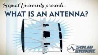 "Solid Signal shows you: ""What Is An Antenna?"""