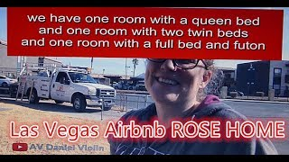 Las Vegas Airbnb ROSE HOME On the Way