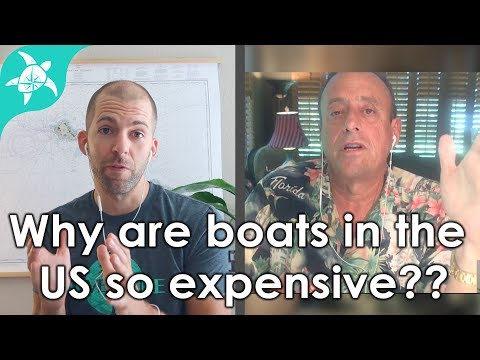 Why do boats in the US cost so much? Can you talk them down?