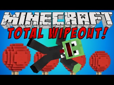 Minecraft Mini-Game: TOTAL WIPEOUT!