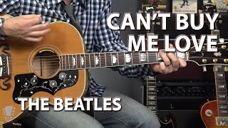 Can't Buy Me Love by The Beatles - Guitar Lesson