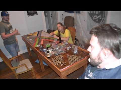Bottle Cap Beer Pong Table Part 1