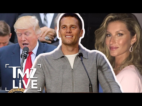 Why Did Tom Brady Miss White House Visit? | TMZ Live