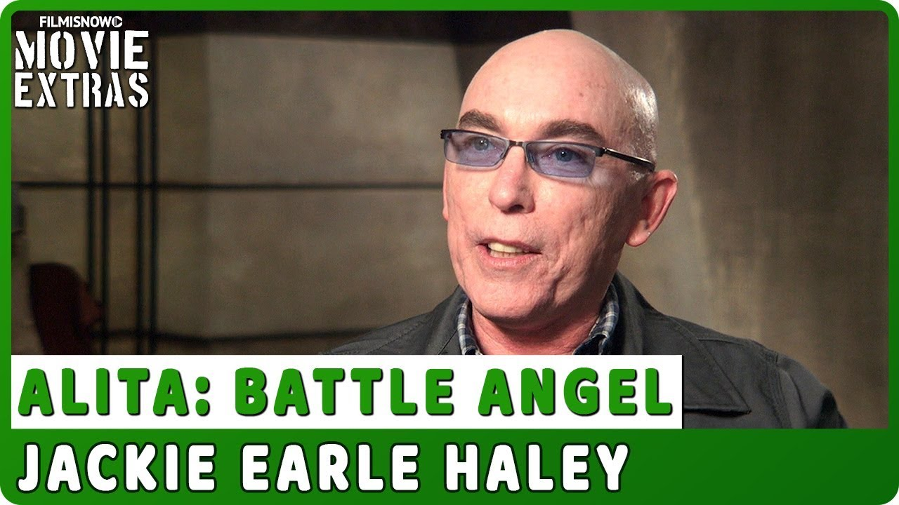 ALITA: BATTLE ANGEL | On-set Interview with Jackie Earle Haley