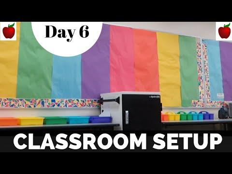 classroom-setup-day-6-classroom-tour-rainbow-disney-theme-teacher-vlog