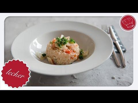 Risotto mit Lachs und Paprika aus dem Thermomix | elegant-kochen.de [4K]