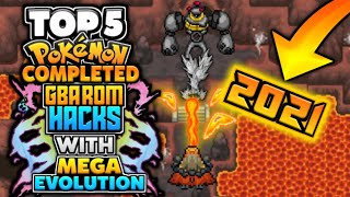 Top 5 Completed Pokemon GBA ROM Hacks With Mega Evolutions, (2021)