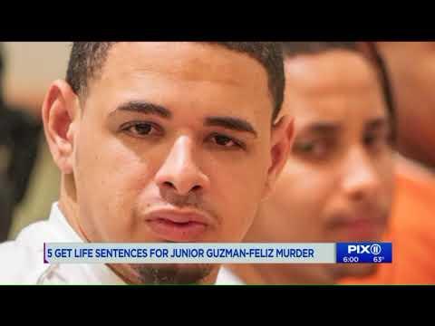 5 get life sentences in Junior murder