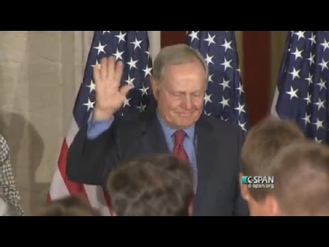 Jack Nicklaus receives Congressional Gold Medal