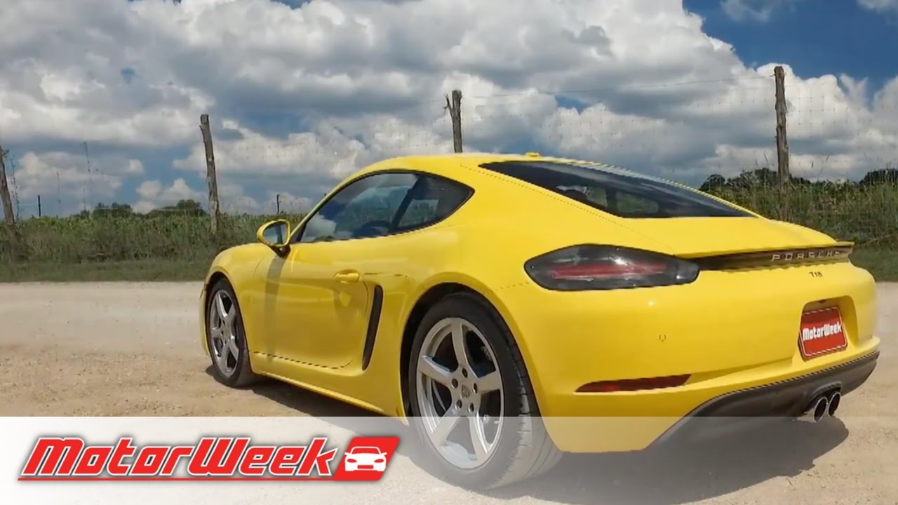 Quick Spin: 2017 Porsche 718 Boxster and Cayman - Old Name, New Car