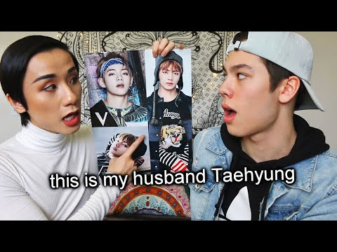 I teach my boyfriend everything about BTS (Jungkook, Jimin, ALL THE BANGTAN BOYS)